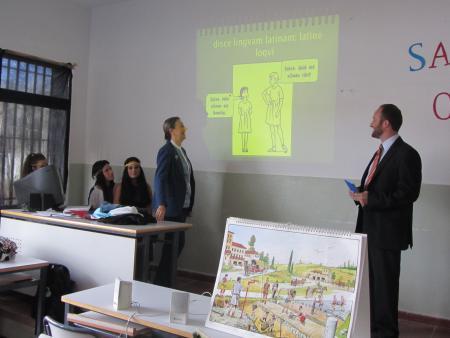 Trinidad Nogales destaca la apuesta del Gobierno de Extremadura por extender la formación en idiomas