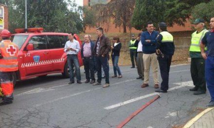 Finaliza con éxito el simulacro de incendio que se ha desarrollado en el Hospital Ciudad de Coria