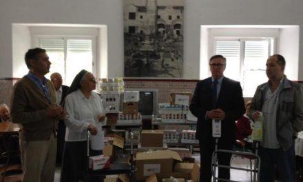 Fundación Cofares dona a la Residencia de San Antonio de Valencia de Alcántara alimentos y material de cura