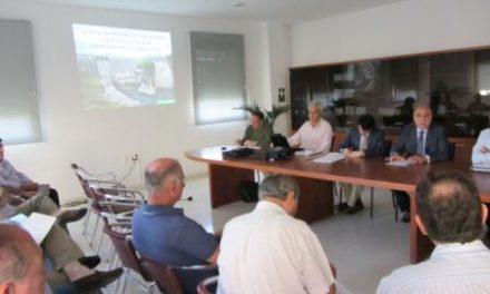 Agricultura apoyará con 10 millones obras para mejorar y modernizar los regadíos fuera de la campaña de riego