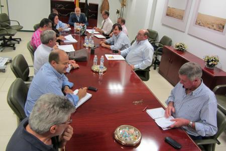 Echávarri destaca que Extremadura mantiene un frente común ante la reforma de la Norma del Ibérico