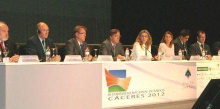 Extremadura acompañará al sector de los áridos en las estrategias que se tracen en el congreso de Cáceres