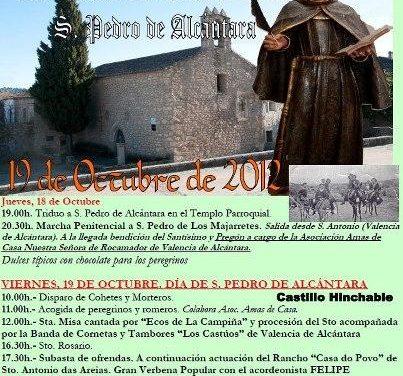 San Pedro de los Majarretes conmemorará el próximo fin de semana el 450 aniversario de la muerte de San Pedro