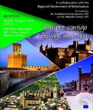 Bruselas celebrará el lunes el día de Extremadura en la inauguración de los Open Days del Parlamento