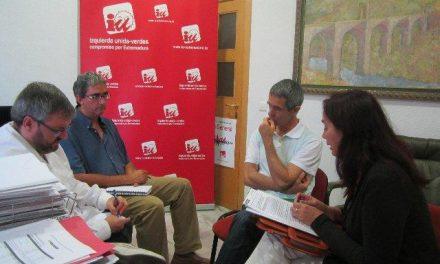 IUV-SIEX aborda la situación de los servicios sociales en Extremadura con el sindicato CCOO