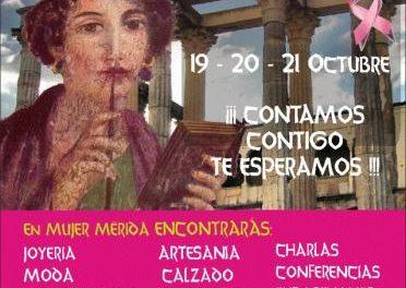 La Asociación Oncológica Extremeña participa en la I Feria de la Mujer de Extremadura