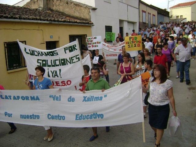 La Plataforma Val de Xálima exigirá el 8 de noviembre en Mérida la construcción del IESO de Valverde del Fresno