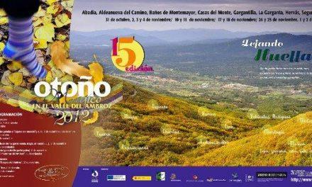 """El Valle del Ambroz vivirá su Otoño Mágico del 31 de octubre al 2 de diciembre con el lema """"Dejando huella"""""""