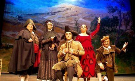 """La compañía Morfeo Teatro representa este viernes """"El sombrero de tres picos"""" en San Vicente de Alcántara"""