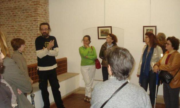 """El pintor José Manuel García """"Jomi"""" y la fotógrafa María Bote dirigen visitas guiadas de sus obras"""