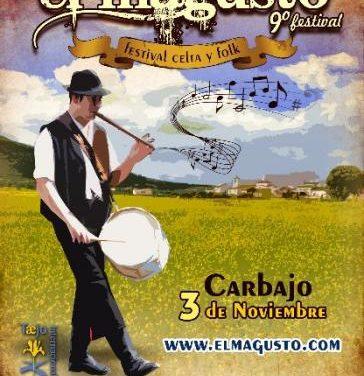 Carbajo celebrará  el 3 de noviembre el Festival El Magusto con música celta y gastronomía regional