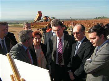 Comienzan las obras de construcción de viviendas en la zona de Río Tinto de la capital cacereña
