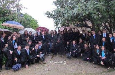 Estudiantes de Cáceres visitan la comarca de Valencia de Alcántara para conocer iniciativas turísticas