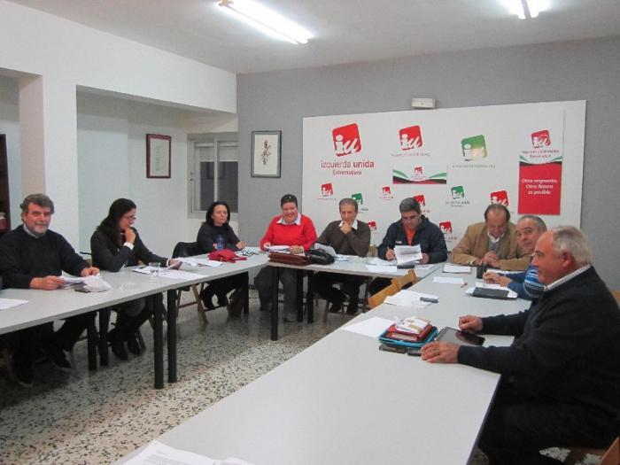 La presidencia de IU Extremadura decide por unanimidad repetir la XII Asamblea regional