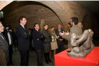 Una exposición de obras del Museo Pérez Comendador llega al Museo de Arte Romano de Mérida