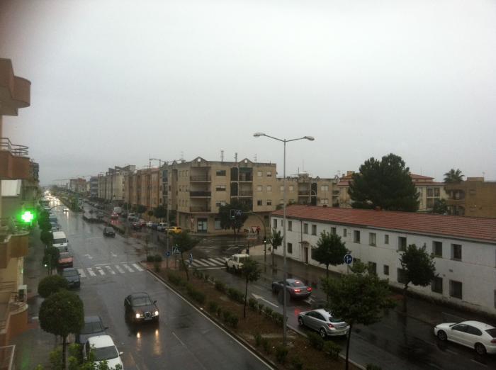 El norte de Cáceres permanece este sábado en alerta naranja por lluvia y amarilla por viento