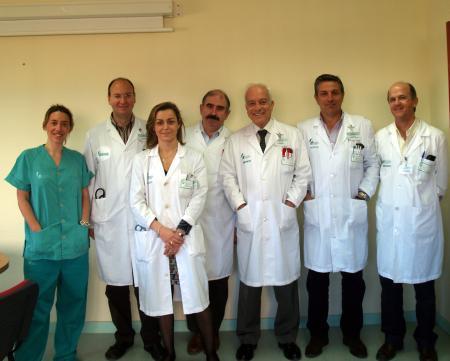 Un equipo del Infanta Cristina utiliza una novedosa técnica para extirpar parcialmente un hígado