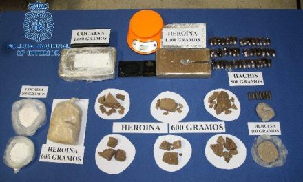 Ingresan en prisión dos de los tres detenidos por la Policía Nacional por tráfico de drogas en Badajoz