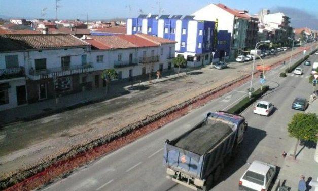 El Ayuntamiento de Moraleja solicita cambios a la Junta de Extremadura en las obras de la travesía
