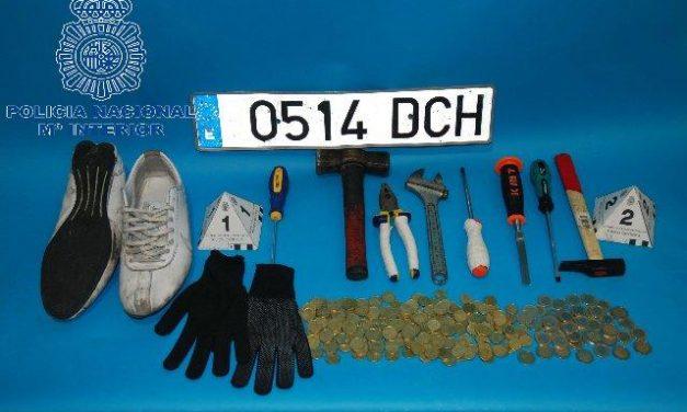 La Policía Nacional detiene a un joven de 31 años por varios robos en establecimientos de Cáceres