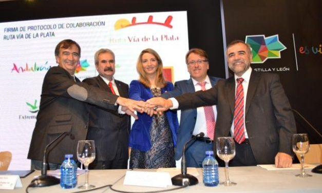 Extremadura, Castilla y León, Andalucía y Asturias se unen para promocionar la Ruta Vía de la Plata