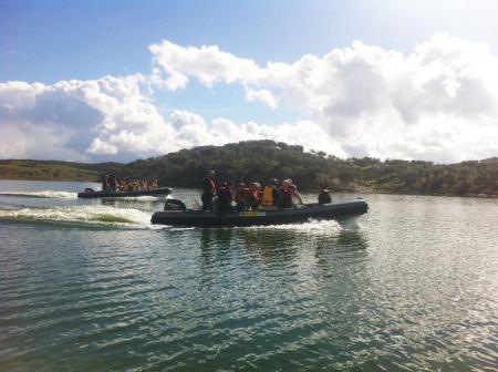 Extremadura difunde entre profesionales de agroturismo y prensa especializada el entorno del lago de Alqueva