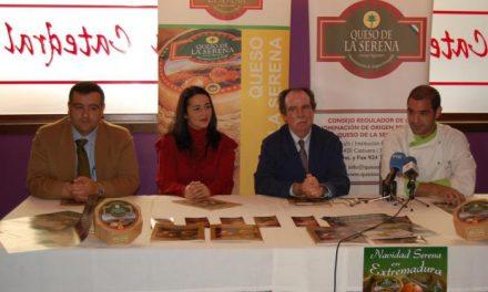 Doce cocineros elaborarán 37 menús con Torta de la Serena con motivo de la campaña Navidad Serena