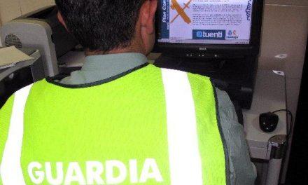La Guardia Civil detiene a cuatro jóvenes en Badajoz por delitos cometidos a través de redes sociales