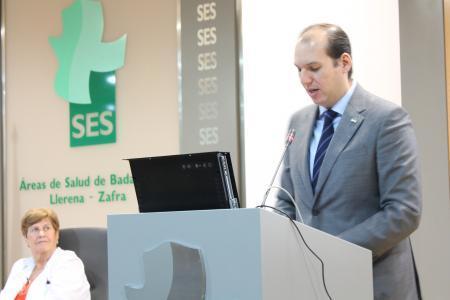 Hernández Carrón confía en que Extremadura mejorará sus buenas cifras de donación de médula ósea