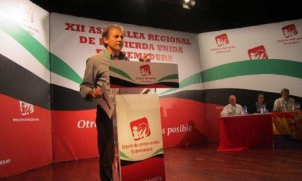 La XII Asamblea Regional de Izquierda Unida Extremadura reelige a Pedro Escobar coordinador general