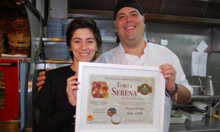 El Restaurante La Cepa gana la tercera edición del concurso de pinchos Torta de la Serena de San Sebastián