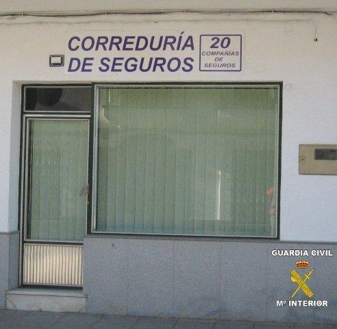 La Guardia Civil destapa una trama de contratos de pólizas de seguros sin ninguna cobertura legal