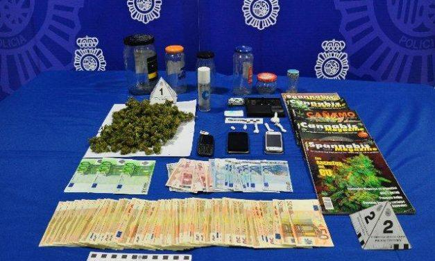 Ingresa en prisión un joven de 21 años dedicado a la venta de cocaína y marihuana en Cáceres