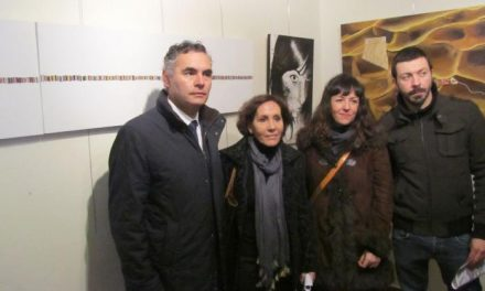 Isabel Campón gana el primer premio del Certamen de Pintura Indalecio Hernández Vallejo