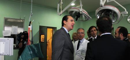 Salud ampliará la capacidad quirúrgica del Hospital de Llerena con una reforma integral de los quirófanos