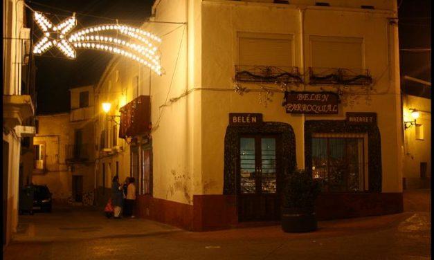 Los vecinos de San Vicente de Alcántara transforman un inmueble en un belén de grandes dimensiones