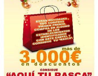 Rivera de Gata pone en marcha la campaña de promoción del comercio local durante las navidades