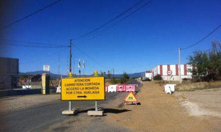 Las obras de la carretera que une Moraleja y La Moheda obligan a cortar la vía al  tráfico rodado desde mañana