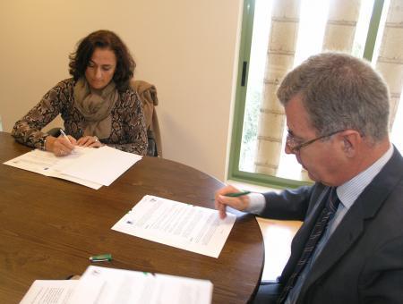 IPROCOR y APROSUBA 3 firman un convenio marco para poder colaborar en actividades futuras