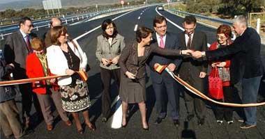 Fomento asegura que los tramos extremeño y andaluz de la Autovía de la Plata concluirán en marzo