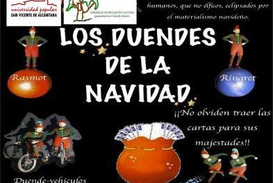 """La obra """"Los duendes de la Navidad"""" se estrenará este domingo en San Vicente de Alcántara en una gala infantil"""