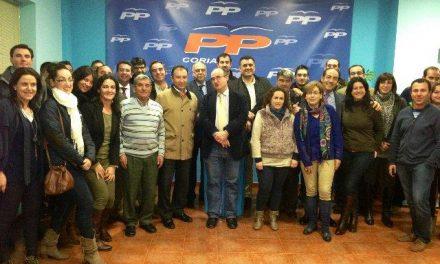 El alcalde de Coria, José Manuel García Ballestero, es elegido nuevo presidente de la Junta Local del PP
