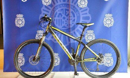 La Policía Nacional detiene en Cáceres a un joven por el robo en un trastero  de una bicicleta valorada en 700 €