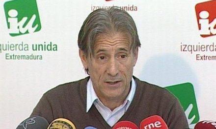 El Consejo Regional de IU ratifica a Pedro Escobar como coordinador general en Extremadura