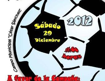 Coria celebra este sábado una convivencia deportiva de Fútbol-7 para recoger alimentos para Cáritas