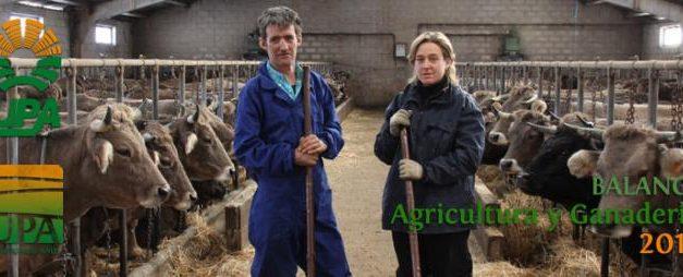 UPA afirma que los recortes y la crisis de rentabilidad de las explotaciones lastran al mundo rural español en 2012