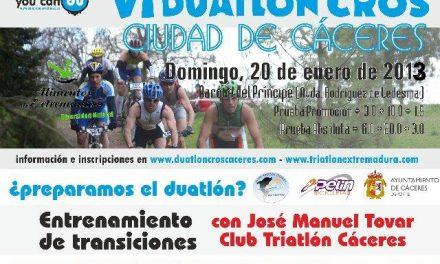 """El excampeón de España de Triatlón, José Manuel Tovar, ofrecerá un entrenamiento de """"transiciones"""" este sábado"""