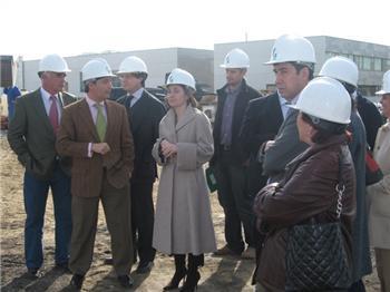 Las obras de construcción del nuevo hospital de Cáceres se podrán seguir en tiempo real a través de internet