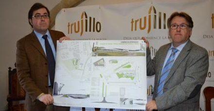 Fomento presenta al Ayuntamiento de Trujillo el proyecto de la nueva estación de autobuses