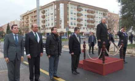 El ministro del Interior inaugura la nueva Comisaría  de Cáceres y visita la Escuela de Tráfico de Mérida